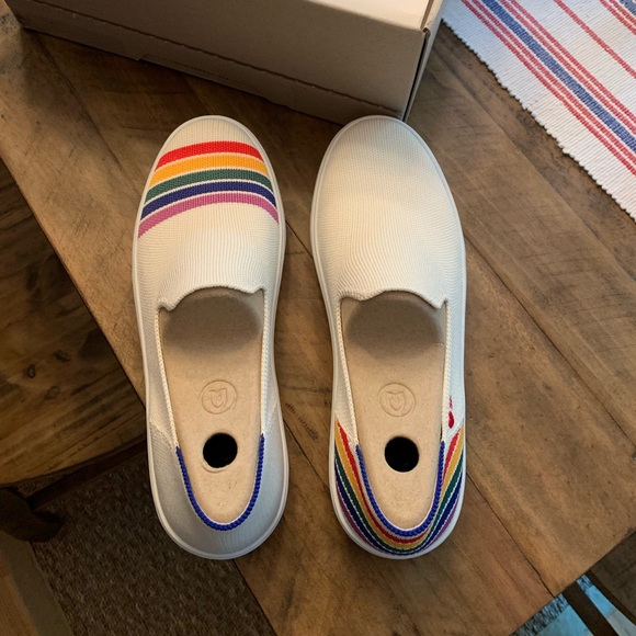 Rothy's Shoes | Rothys Rainbow Sneakers